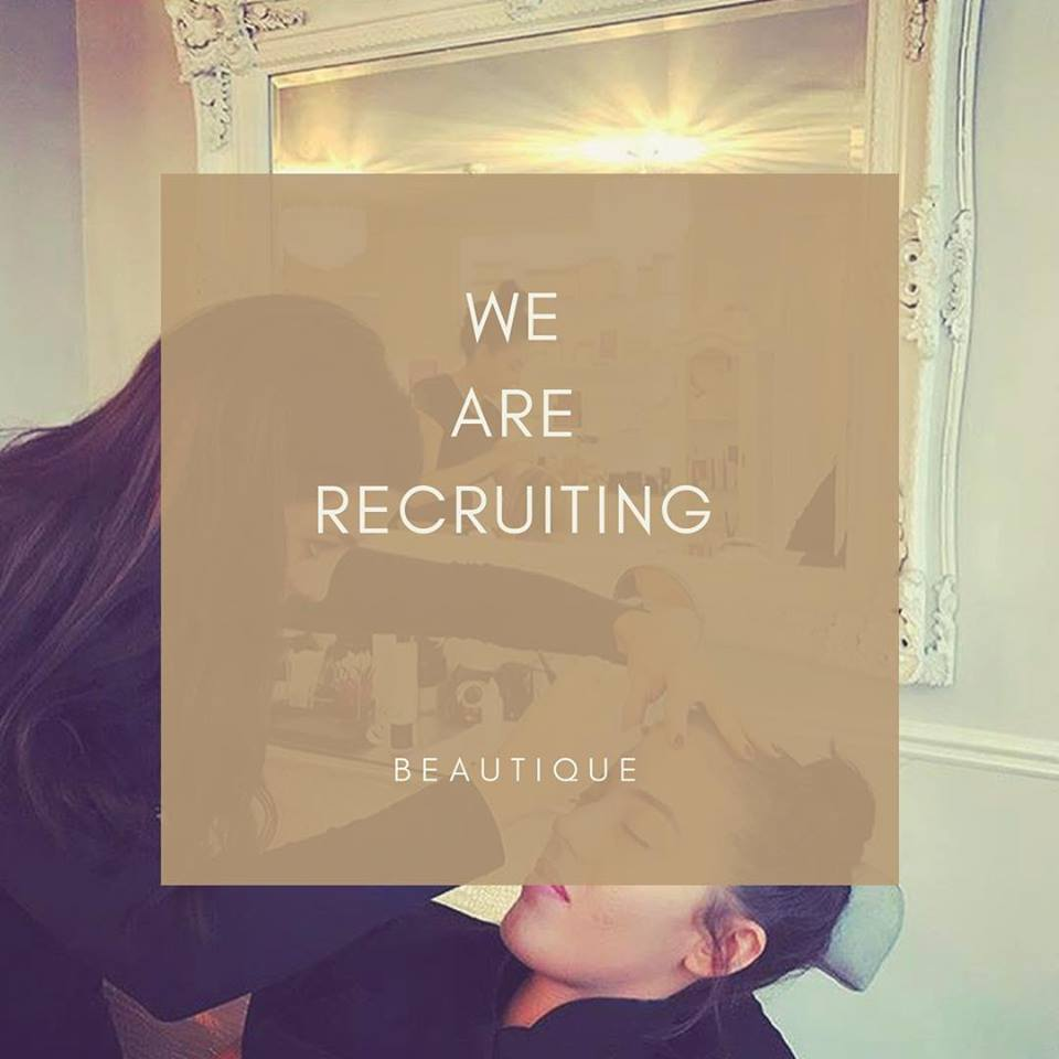 RECRUITING NOW FOR AN APPRENTICE BEAUTY THERAPIST