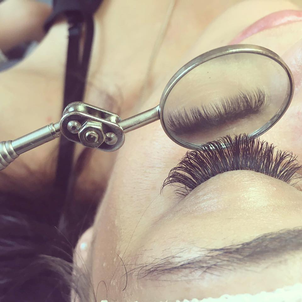 Before you book- Lash extensions.