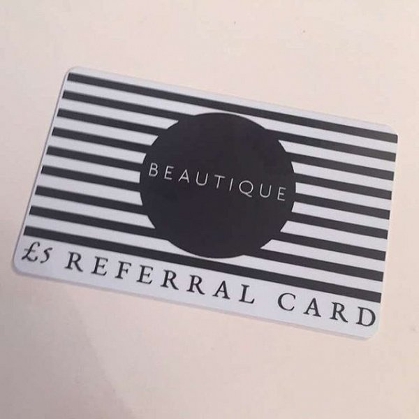 Beautique Referral Card
